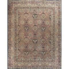 Persian Kerman Rug Carpet Circa 1940