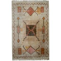 Handmade Vintage Tibetan Khaden Rug, 1960s, 1C504
