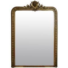 Napoleon III Gilt Wood Mirror