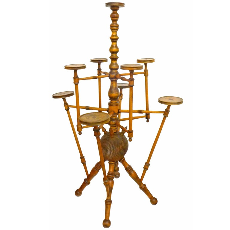 Monumental Victorian Plant Stand by George Hunzinger 1