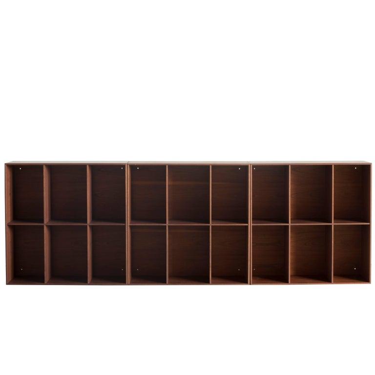Set of Three Mogens Koch Bookcases for Rud. Rasmussen