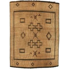Mid-20th Century Handwoven Tuareg Mat