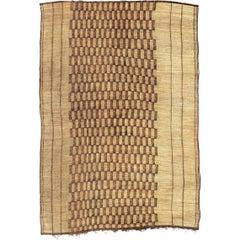Mid-20th Century Handwoven Moroccan Tuareg Mat