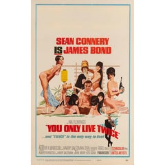 """""""You Only Live Twice,"""" Original US Film Poster"""