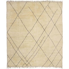 Contemporary Moroccan Rug with Modern Style