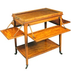 Satinwood Tea Trolley