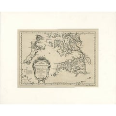 Antique Map of the Southern Philippines by J.N. Bellin, 1752