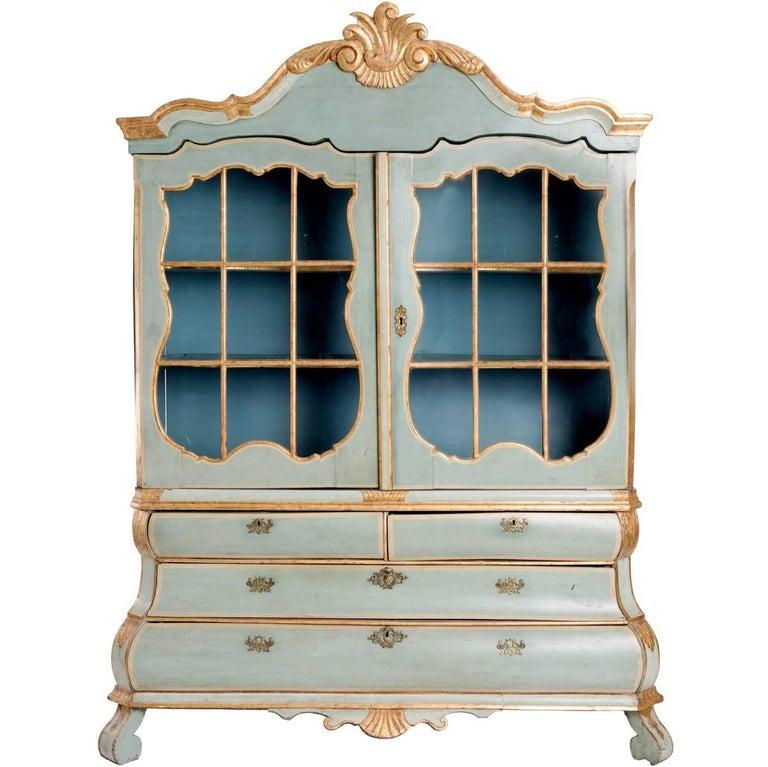 18th Century Dutch Display Cabinet