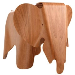 Ray and Charles Eames Plywood Elephant in Cherry by Vitra