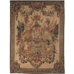Tapestry Recreation of Armes De Guillaume et Marie