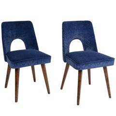 """Pair of """"Shell"""" Chairs, Poland, 1960s"""