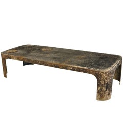 French Industrial Table Basse - Coffee Table