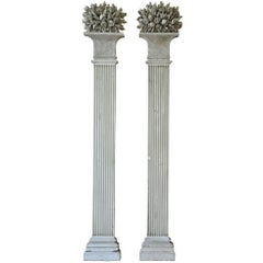 Exquisite Pair of Louis XVI Period Pilasters, Columns