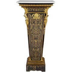 French 19th Century Boulle Pedestal