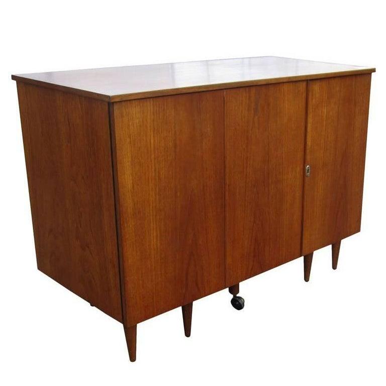 Vintage Midcentury Folding Desk