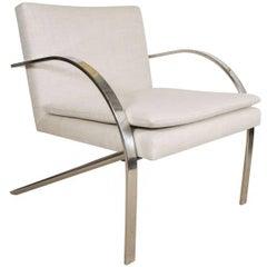 Chrome Chair by Paul Tuttle, USA, circa 1950