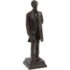 Abraham Lincoln Bronze Statuette by George E. Bissell