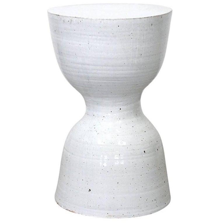 Large Tariki Ceramic Stool For Sale