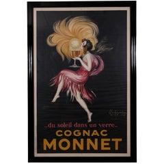 "Vintage 1927 ""Cognac Monnet"" Poster by Leonetto Cappiello"