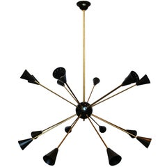 16 Light Sputnik Chandelier