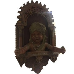 19th Century, Bronze Islamic Sculpture, French Made for the Spanish Market