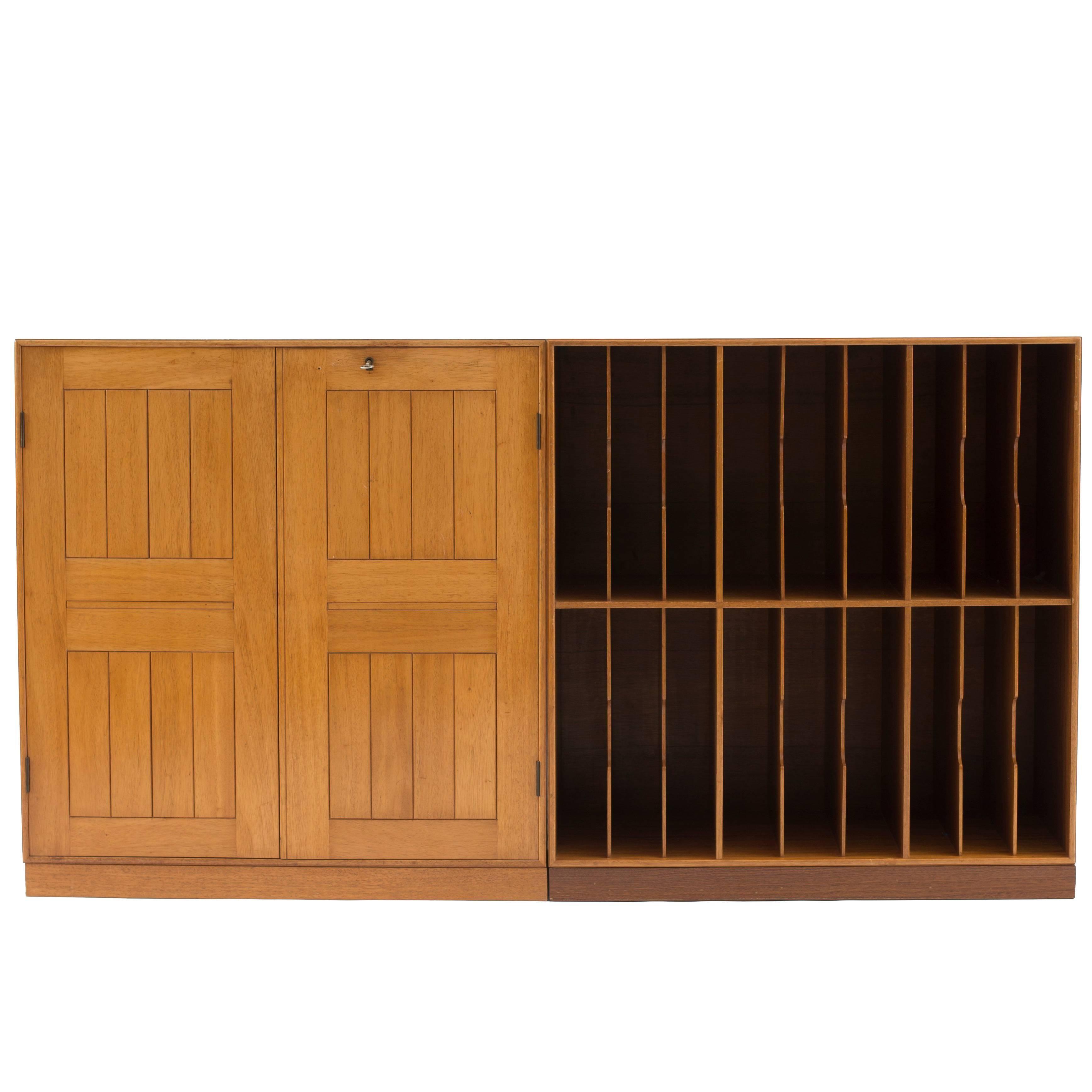 Mogens Koch Cabinets in Mahogany for Rud. Rasmussen