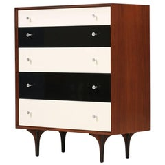 Richard Thompson Walnut Chest of Drawers for Glenn of California