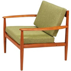 Grete Jalk Teak Lounge Chair for France & Søn