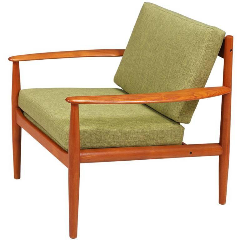 Grete Jalk Teak Lounge Chair For France U0026 Søn