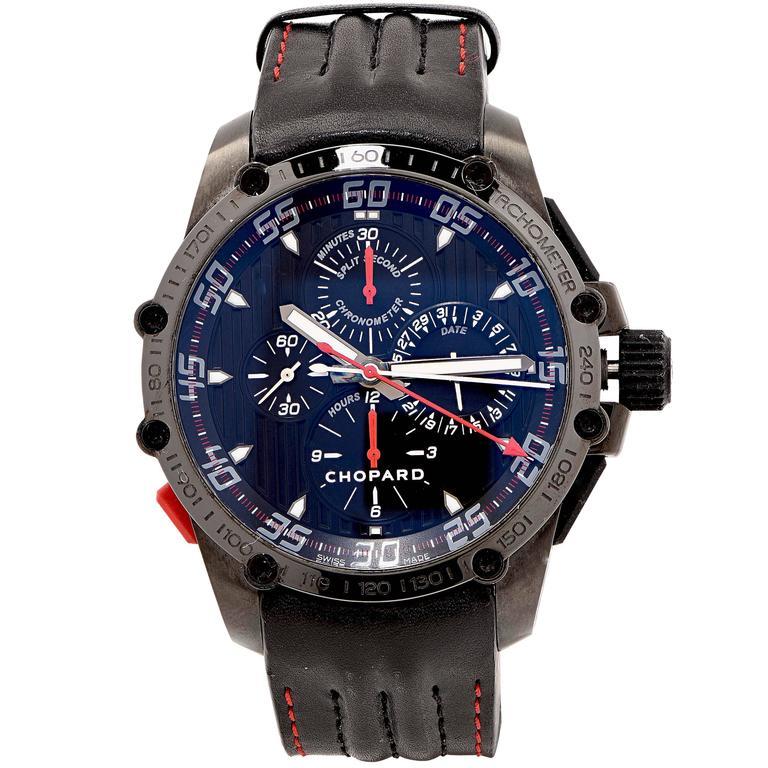 Chopard Stainless Steel Superfast Chrono Split Second Ltd Ed Wristwatch