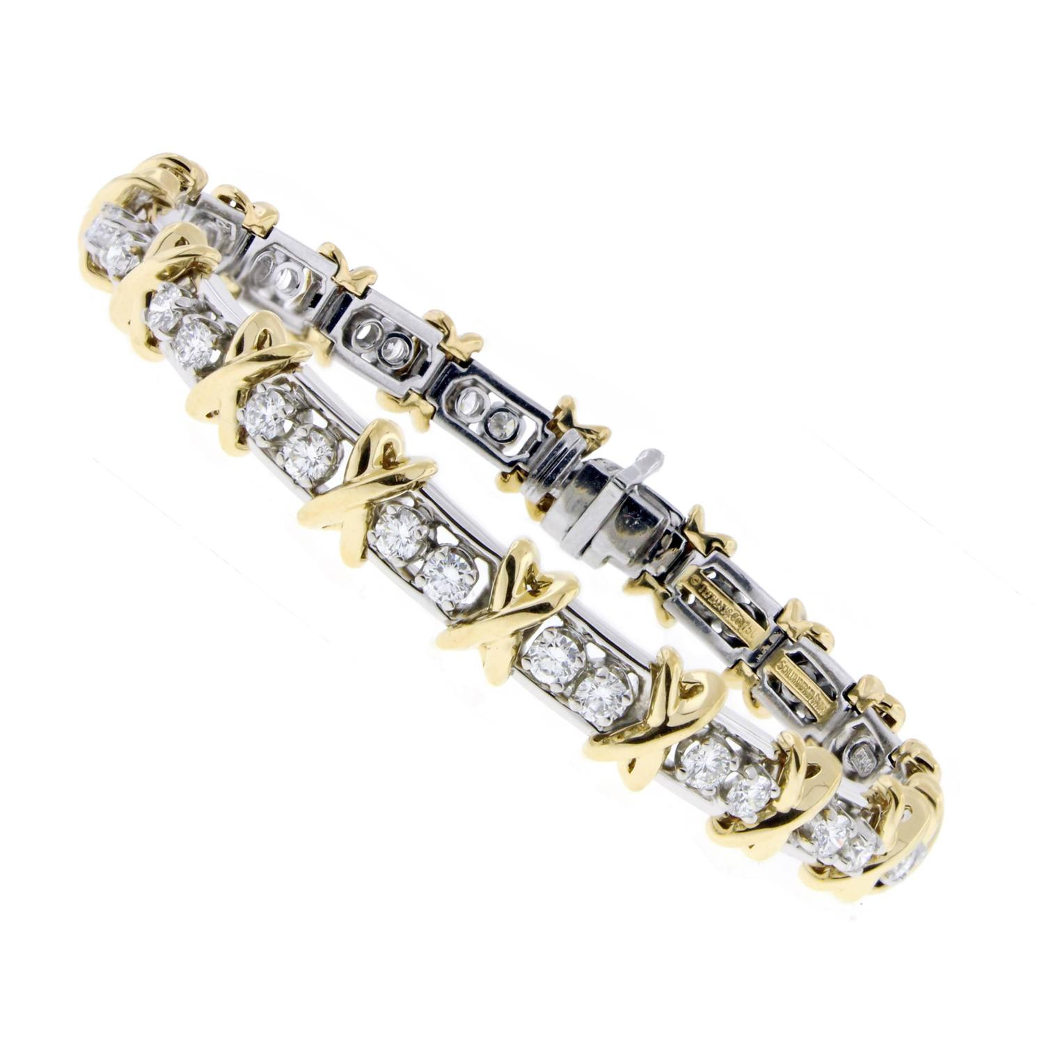 diamond and pin karat white bracelet rodkin gold loree bone