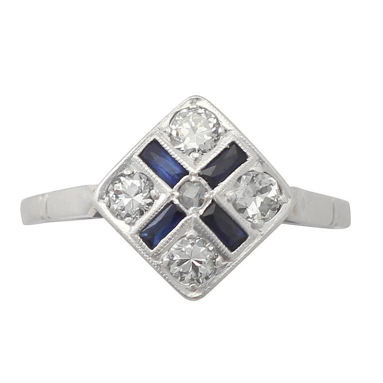 Old Fashion One Karat Diamond Ring K Engagement