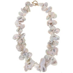 Valentin Magro Butterfly Baroque Pearl Necklace