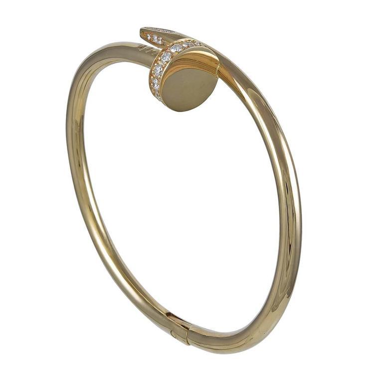 CARTIER Juste un Clou Rose Gold & Diamond Bracelet 1