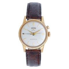 Vulcain Vermeil Cricket Alarm Wristwatch