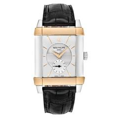 Patek Philippe Platinum Rose Gold Gondolo Wristwatch Ref 5111PR-001