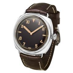 Panerai White Gold Radiomir Wristwatch Ref PAM00376