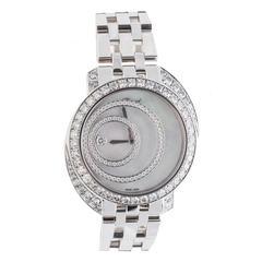 Chopard Ladies White Gold Happy Spirit Quartz Wristwatch  20/7154-20