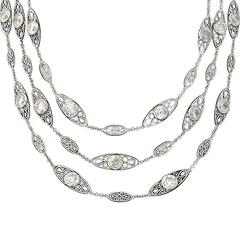 Diamond Platinum Necklace