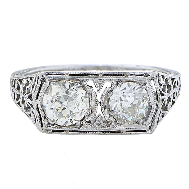 1 25 Carat Vintage Diamond Ring For Sale at 1stdibs