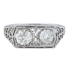 1.25 Carat Vintage Diamond Ring