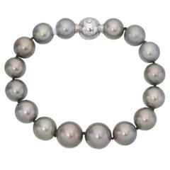 Mikimoto Tahitian Pearl Bracelet