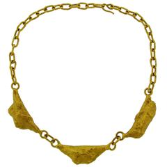 1979 Jean Mahie Gold Necklace