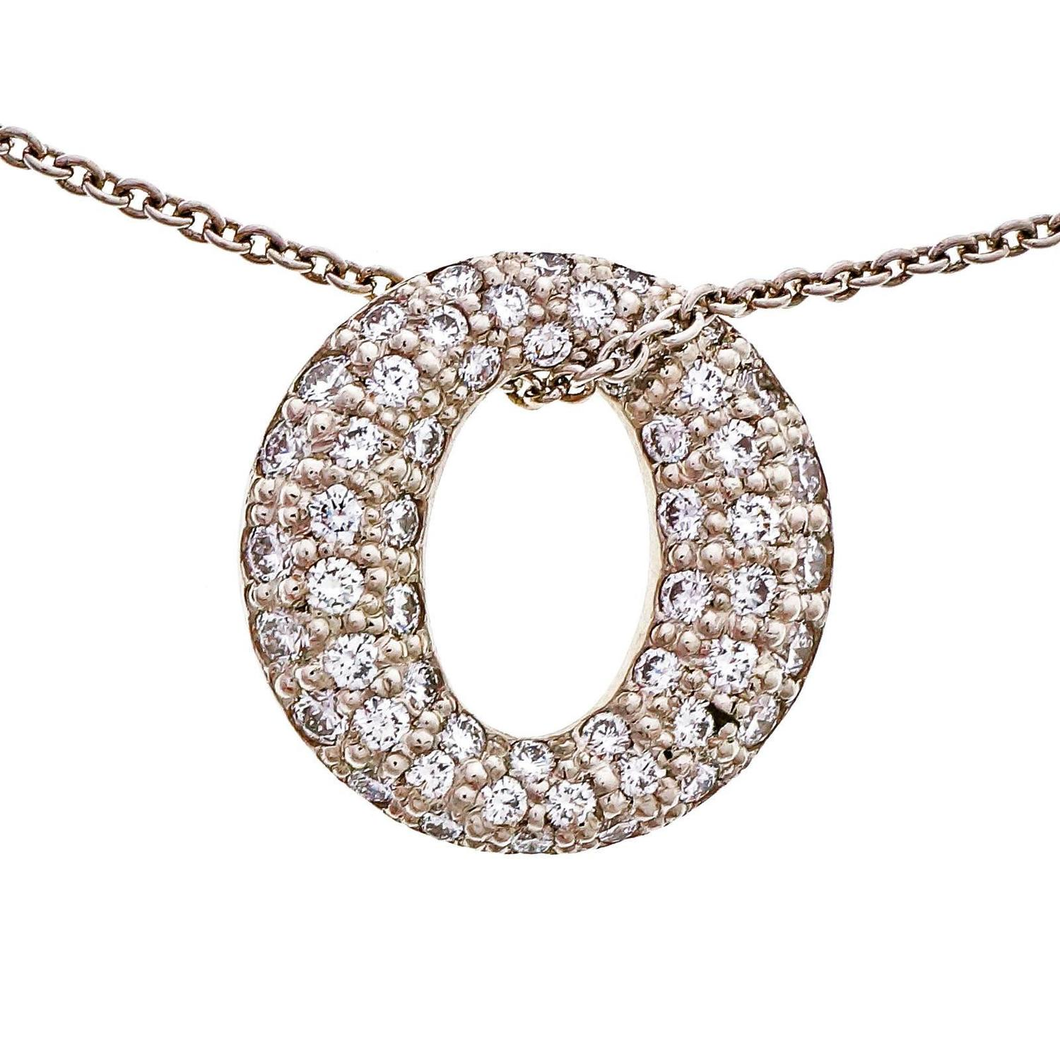 pendant diamond necklace tiffany infinity myshoplah co