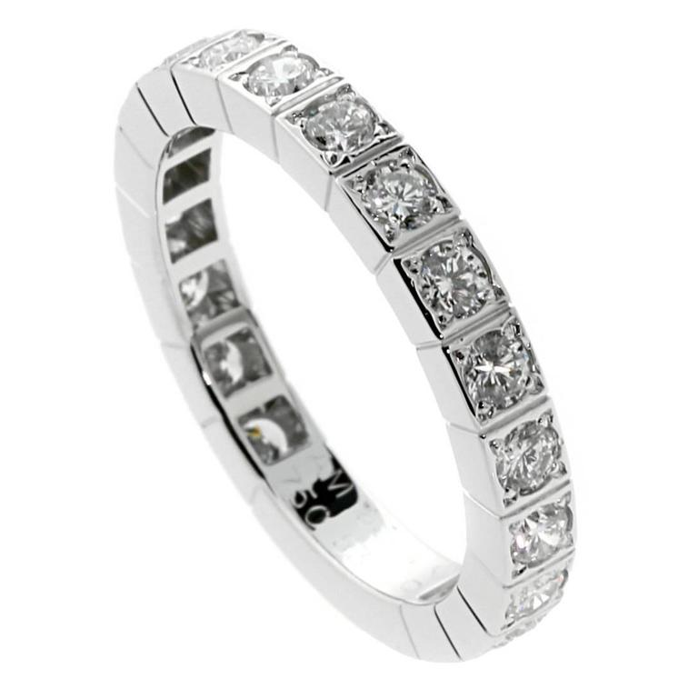 Cartier Diamond Gold Eternity Band  1