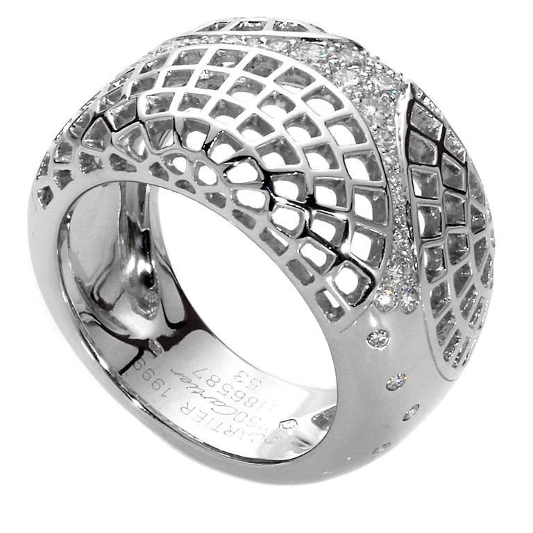 Cartier Paris Diamond Gold Ring