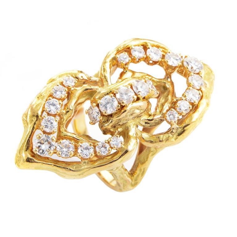 Chaumet Diamond Gold Ring