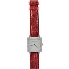 Tiffany & Co. Lady's Sterling Silver Atlas Quartz Wristwatch