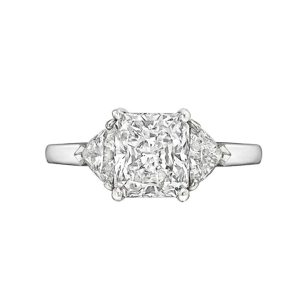 1 Carat Radiant Cut Engagement Rings  One Carat  Ritani