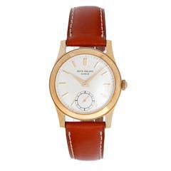 Patek Philippe Yellow Gold Wristwatch Ref 2483
